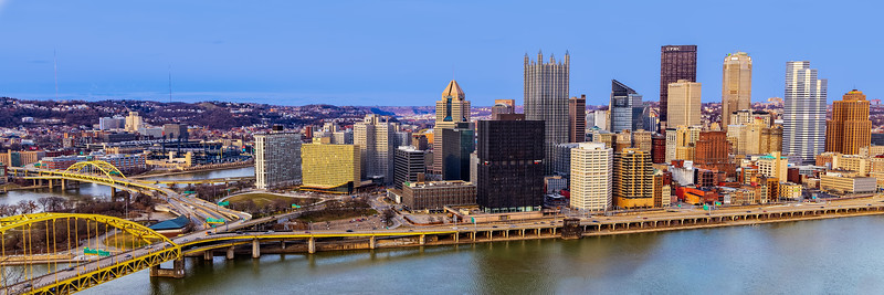 Pittsburgh Skyline-