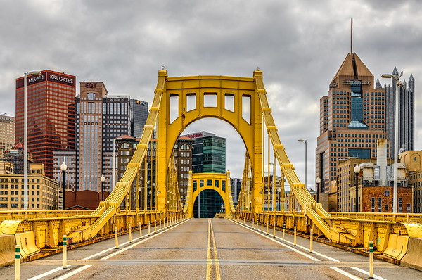 A Very Empty Roberto Clemente Bridge