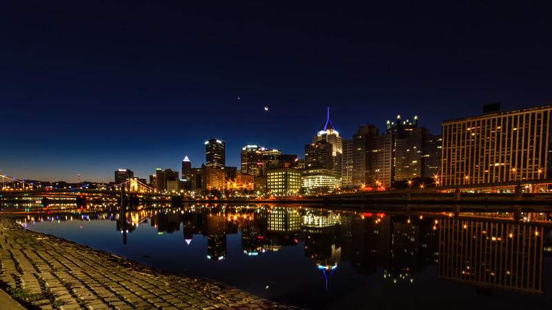 Pittsburgh Moon Wide