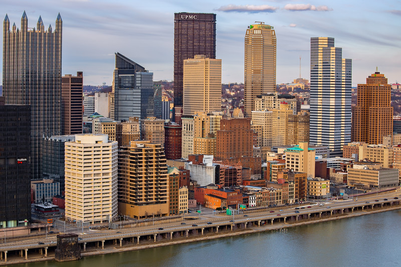 Downtown Pittsburgh--4