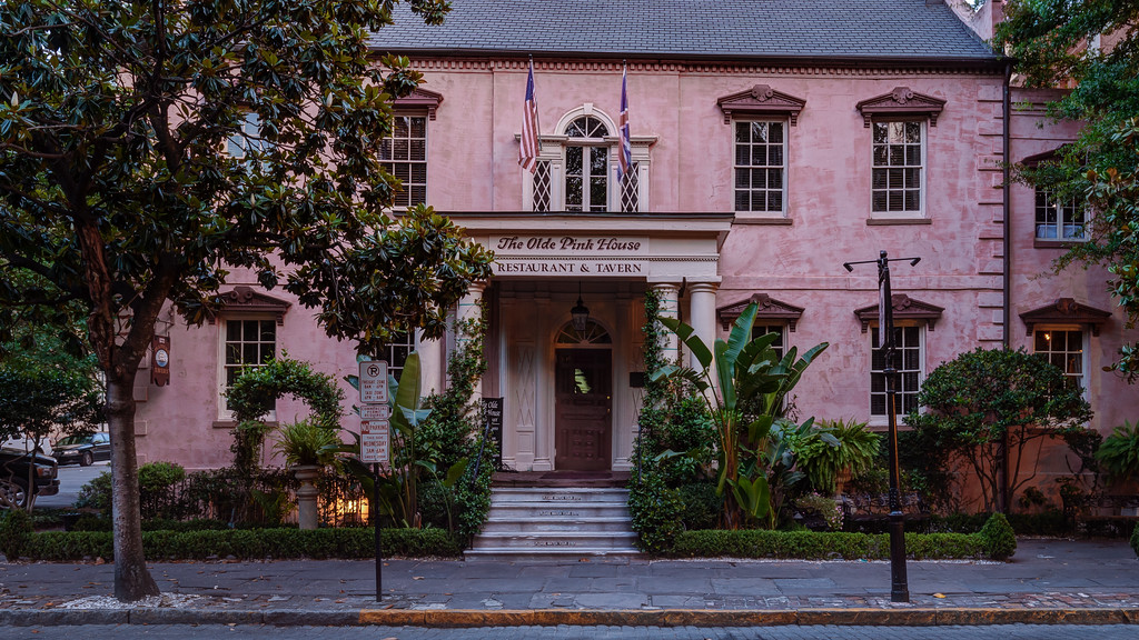 The Old Pink House
