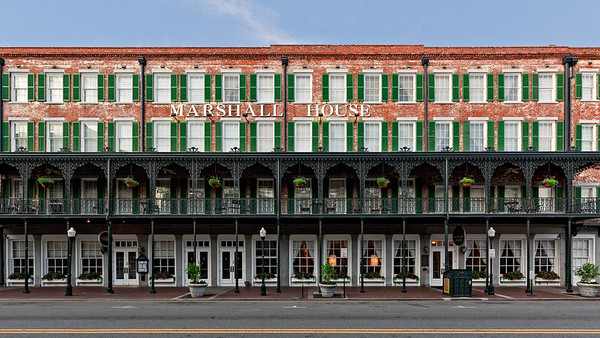 Oldest Hotel in Savannah, 1851 by Mary Marshall