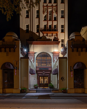24 Cathedral Place  The Treasury originally opened in 1927 as the area's central bank. The building was recently remodeled to become a premier destination for St. Augustine weddings and events.