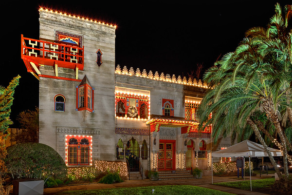 St Augustine Night of Lights 2017--2