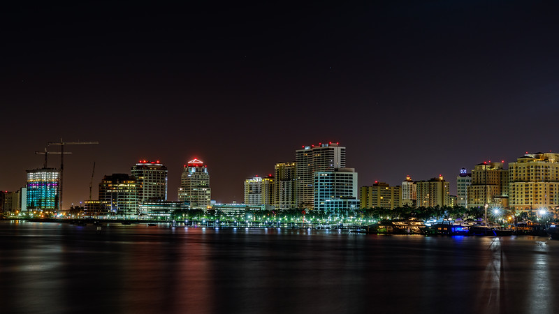 West Palm Beach Nightscape-2