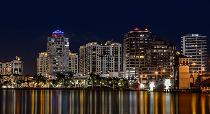 West Palm Beach Nightscape