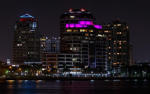 West Palm Beach Nightscape-1-Edit
