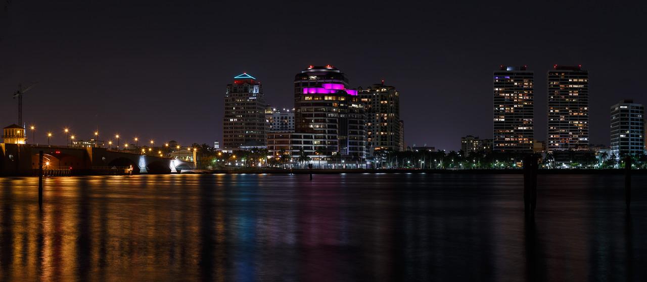 West Palm Beach Nightscape--3