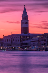 St Mark's Campanile at Dusk