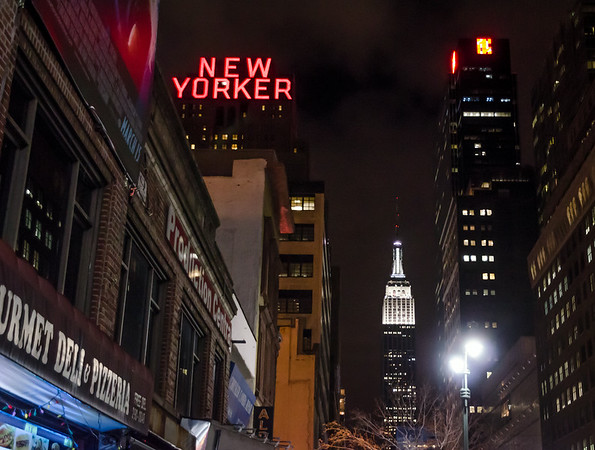 New Yorker by Night