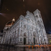 Florence Cathedral at night