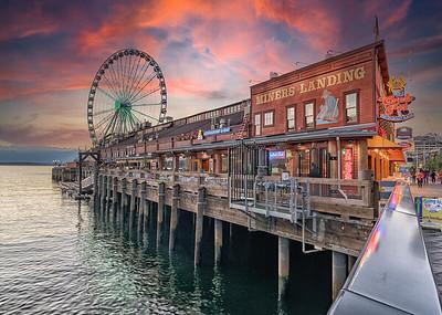Miners Landing | Seattle, Washington waterfront