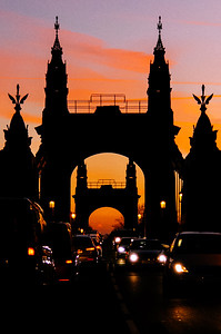 Hammersmith Bridge Sunset