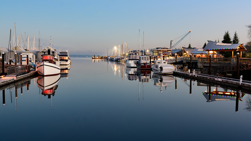 Percival Landing Calm | Olympia, Washington