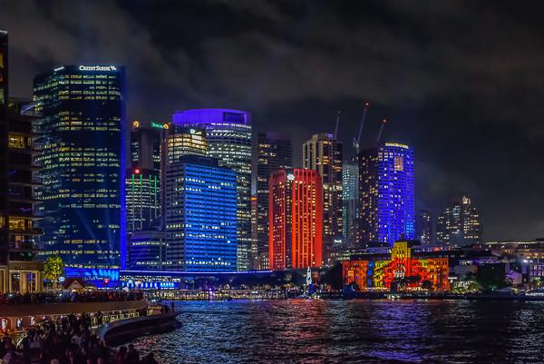 Circular Quay - Vivid Sydney