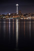 Reflections of the Space Needle