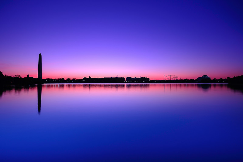 Blue Hour on the Tidal Basin 01