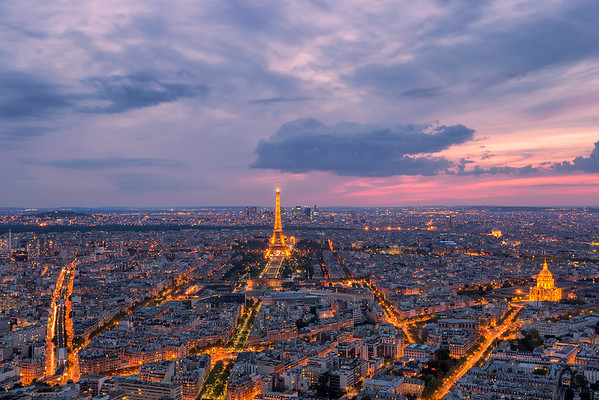 Parisian Sunset || Paris, France