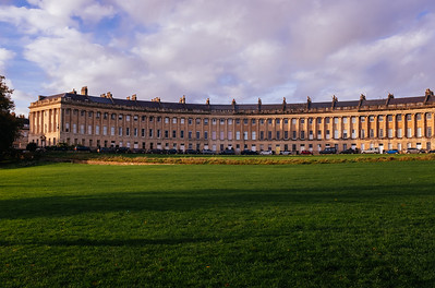 The Royal Crescent, Bath, England