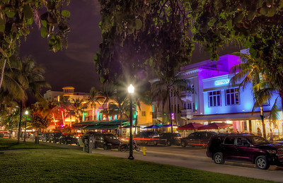 Ocean Drive  Miami Beach, FL