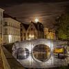 Moon Rise Over Brugge<br /> <br /> Brugge, Belgium