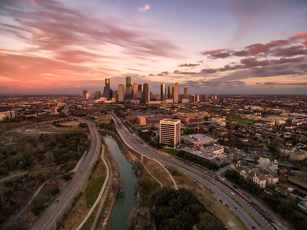 Houston from Above || Houston, TX