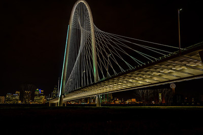 Margaret Hunt Hill Bridge - Dallas, Texas