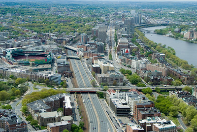 Fenway park and the Citgo sign, this is Boston!