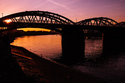 Barnes Bridge Sunset