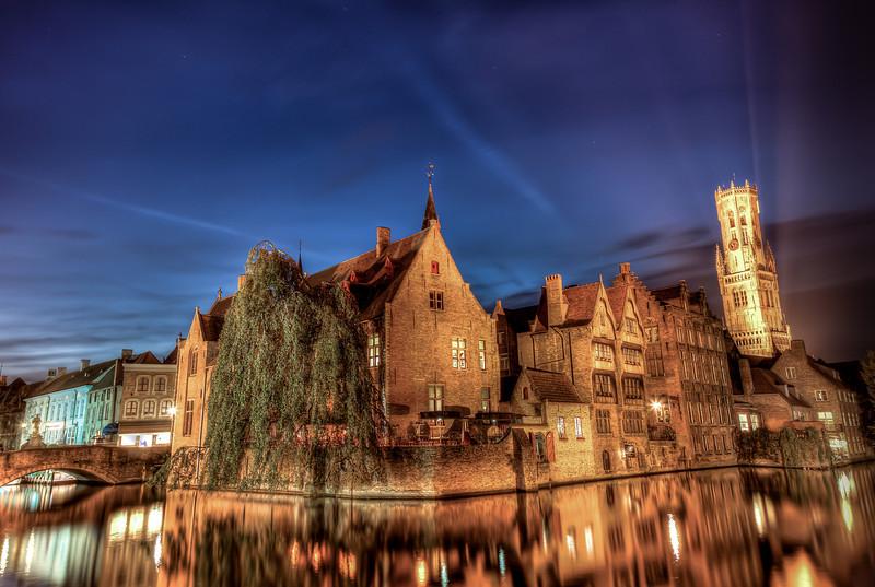 The Postcard I Had To Take  Brugge, Belgium