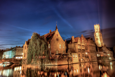 The Postcard I Had To Take  Brugge, Belgium