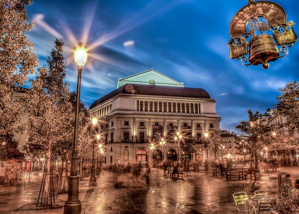 The Opera  Madrid, Spain
