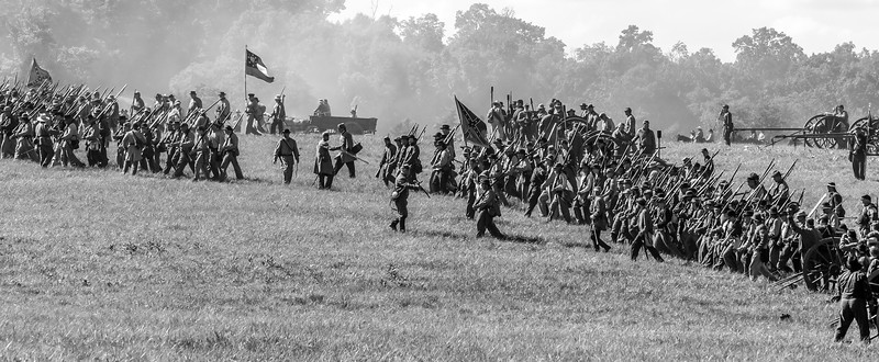 Confederate Regiments on the Move