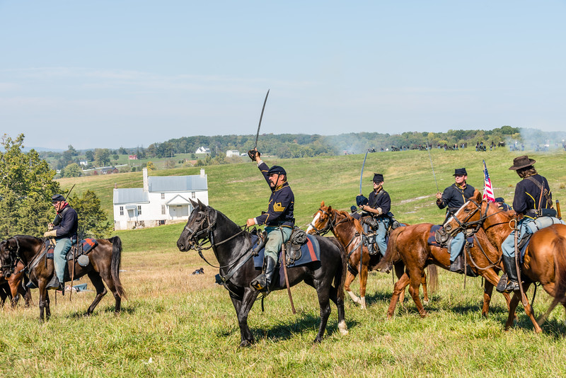 Union Cavalry Regroup