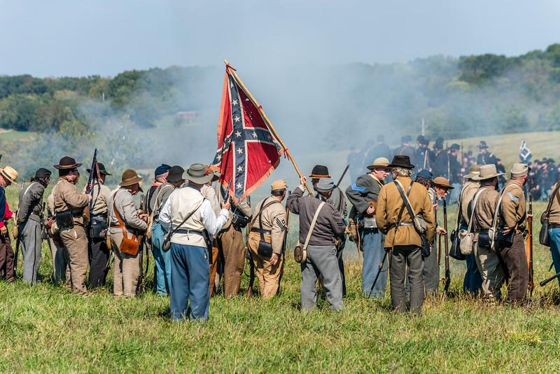 Confederates Move the Flag