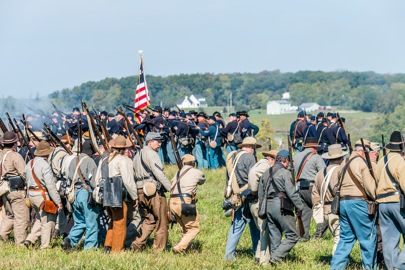 Confederates Advance