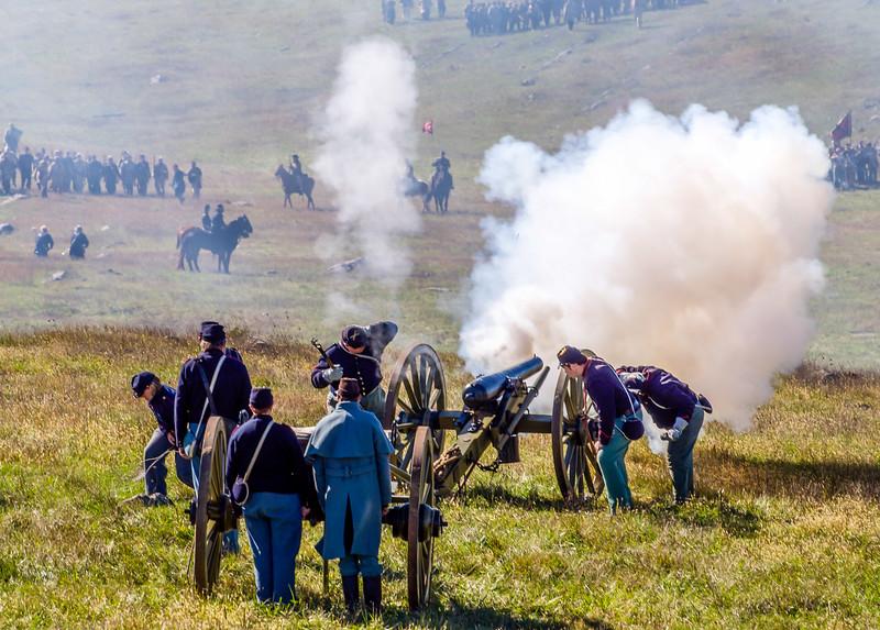 Blast of Artillery