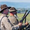 Confederate Cavalry Await the Next Attack