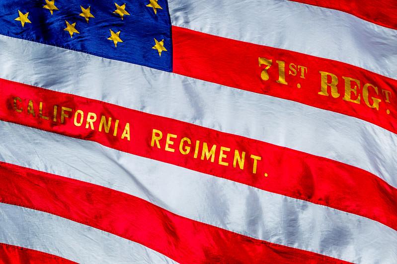 71st California Regulars Regimental Flag