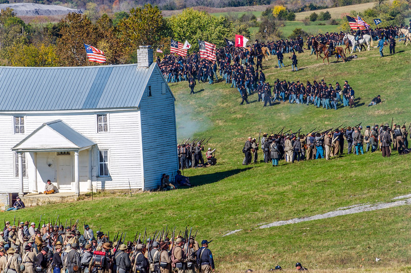 Union Troops on the Move