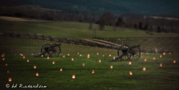 Night of the Luminaries at Antietam-1