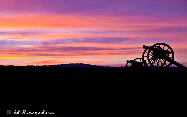 Sunrise at Gettysburg