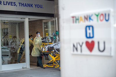New York Continues To Struggle With Coronavirus Spread As Parts Of U.S. Look To Reopen