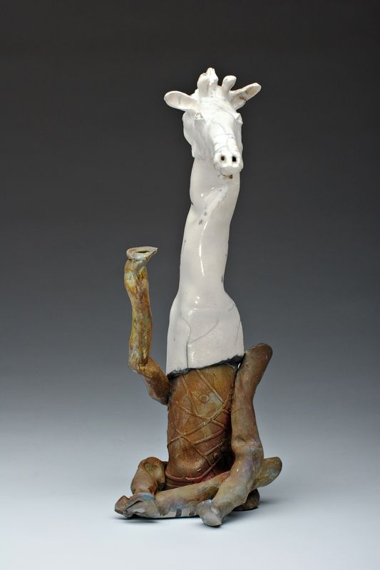 "Waving Giraffe<br><br>20"" tall<br>"