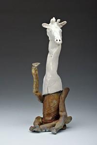 "Waving Giraffe20"" tall"