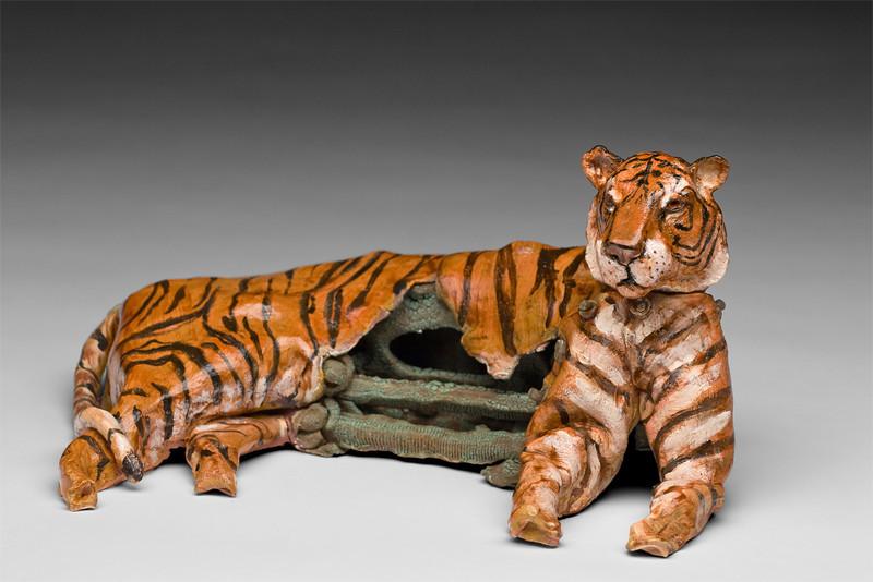 """Tiger""  $430<br /> 15"" x 5"""