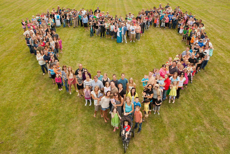 """A group of over 300 colleagues, family and patients came together for a community photograph as a memorial gift to his family at the Cowlitz County Fairgrounds on June 16th, 2013. <br /> <br /> Mandatory Credit: Jimmy Hickey ( <a href=""""http://www.jimmyhickey.net"""">http://www.jimmyhickey.net</a>)"""