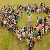 "A group of over 300 colleagues, family and patients came together for a community photograph as a memorial gift to his family at the Cowlitz County Fairgrounds on June 16th, 2013. <br /> <br /> Mandatory Credit: Jimmy Hickey ( <a href=""http://www.jimmyhickey.net"">http://www.jimmyhickey.net</a>)"