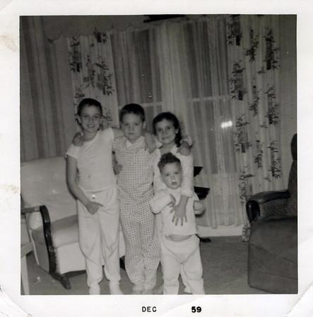 1959 Butch, Cork, Teri and Kris