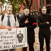 Anonymous at the Occupy Portland movement in Portland Oregon.